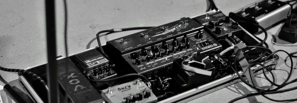 ejemplo pedalera de guitarra